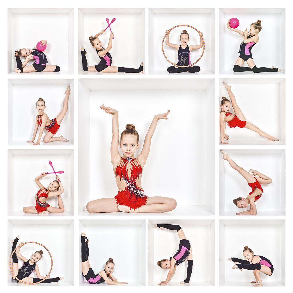 Куб гимнастка